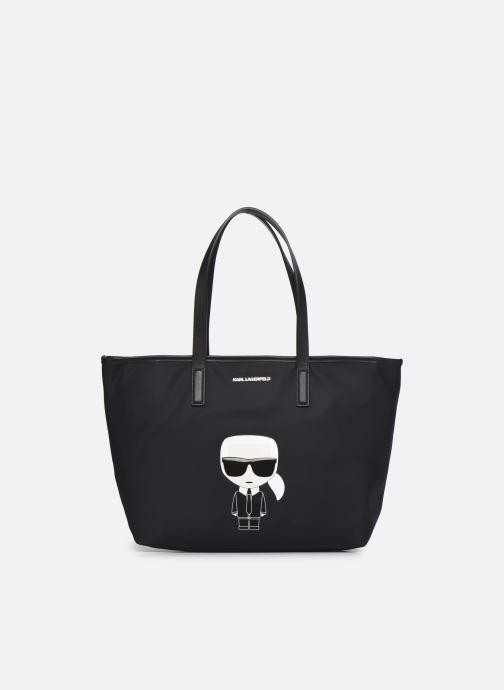 Handtaschen Karl Lagerfeld K/Ikonik Nylon Tote schwarz detaillierte ansicht/modell