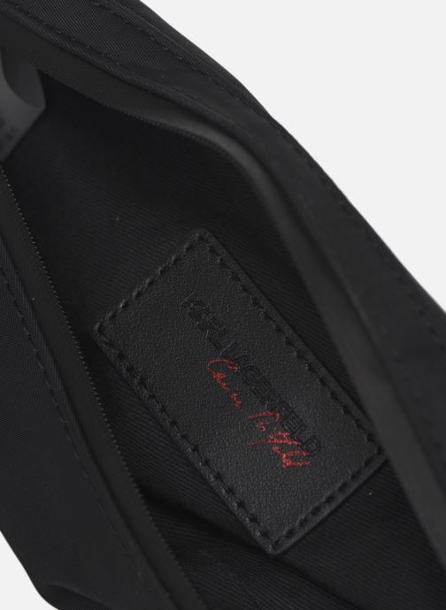 Borse Karl Lagerfeld Karl X Carine Small Bumbag Dot Nero immagine posteriore