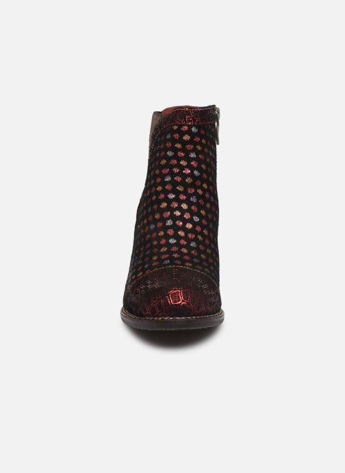 Bottines et boots Laura Vita Anna 1382 Rouge vue portées chaussures