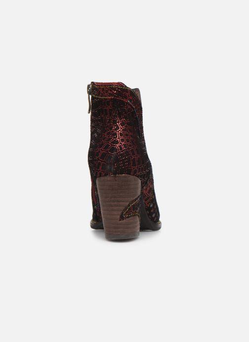 Bottines et boots Laura Vita Anna 1382 Rouge vue droite