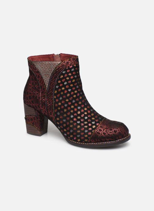 Bottines et boots Laura Vita Anna 1382 Rouge vue détail/paire