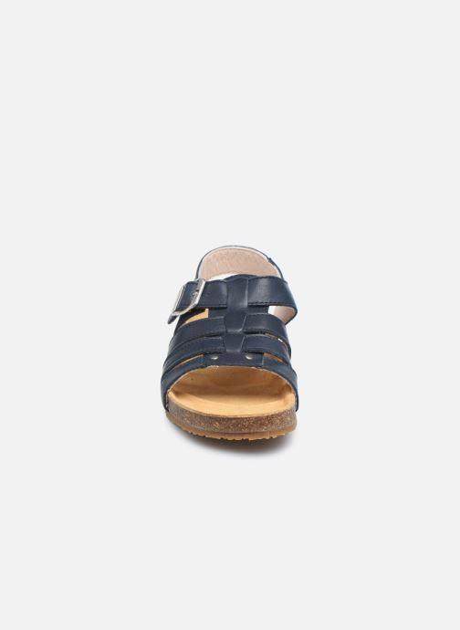 Sandali e scarpe aperte Bopy Eberny Azzurro modello indossato