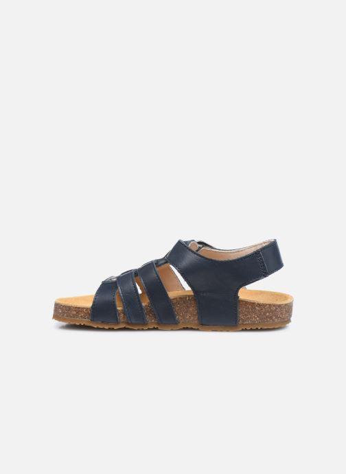 Sandalen Bopy Eberny blau ansicht von vorne