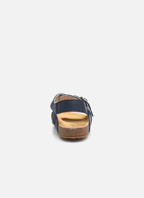 Sandalias Bopy Eberny Azul vista lateral derecha