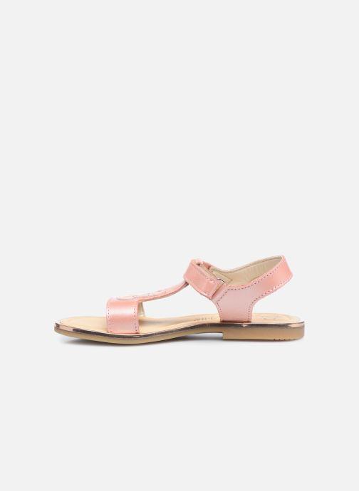 Sandalen Bopy Echerry rosa ansicht von vorne
