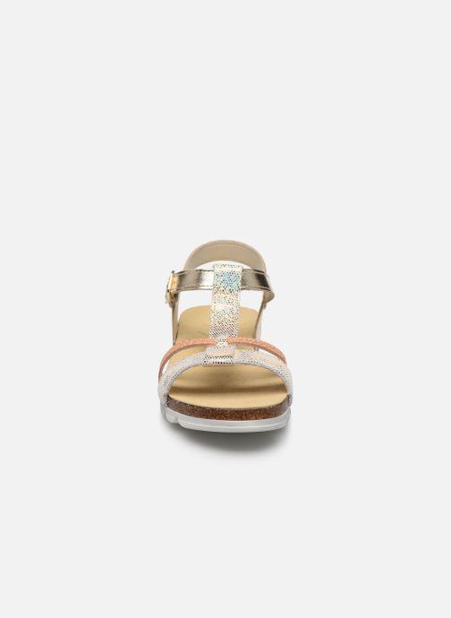 Sandales et nu-pieds Bopy Efeuille Or et bronze vue portées chaussures