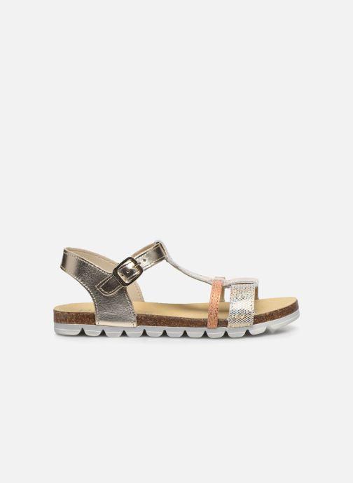 Sandales et nu-pieds Bopy Efeuille Or et bronze vue derrière