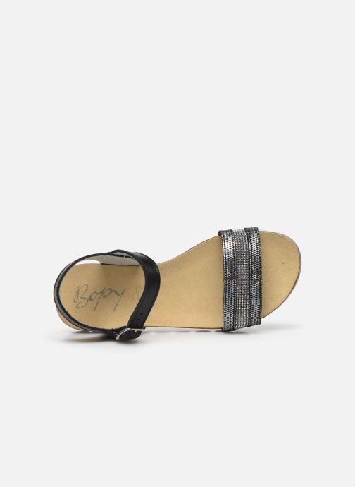 Sandali e scarpe aperte Bopy Epinette Nero immagine sinistra