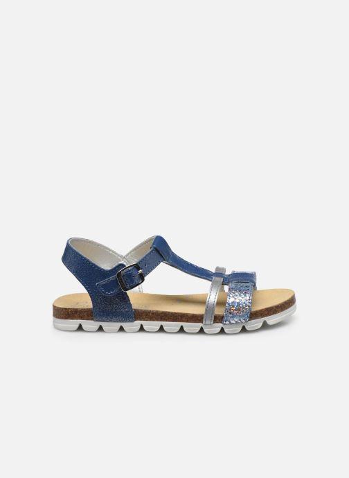 Sandales et nu-pieds Bopy Epingle Bleu vue derrière