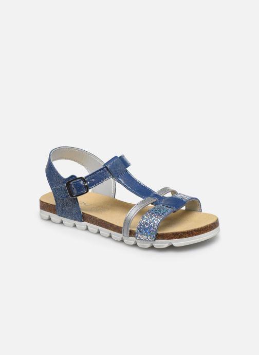 Sandales et nu-pieds Bopy Epingle Bleu vue détail/paire