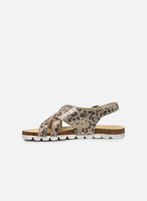 Sandali e scarpe aperte Bopy Epivoila Beige immagine frontale