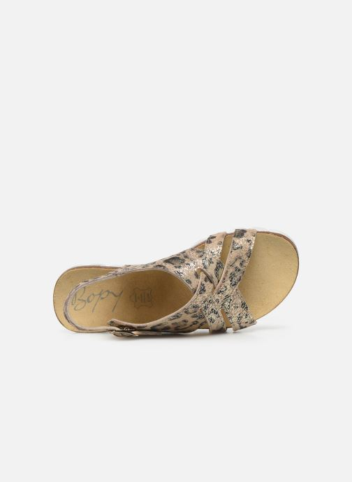 Sandali e scarpe aperte Bopy Epivoila Beige immagine sinistra
