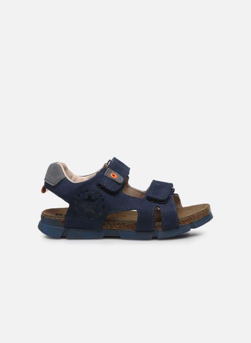 Sandales et nu-pieds Bopy Erevol Bleu vue derrière