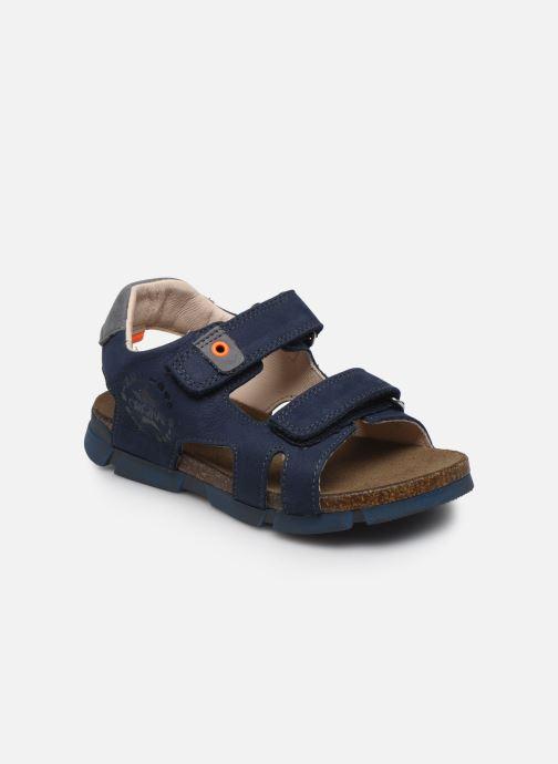 Sandales et nu-pieds Bopy Erevol Bleu vue détail/paire
