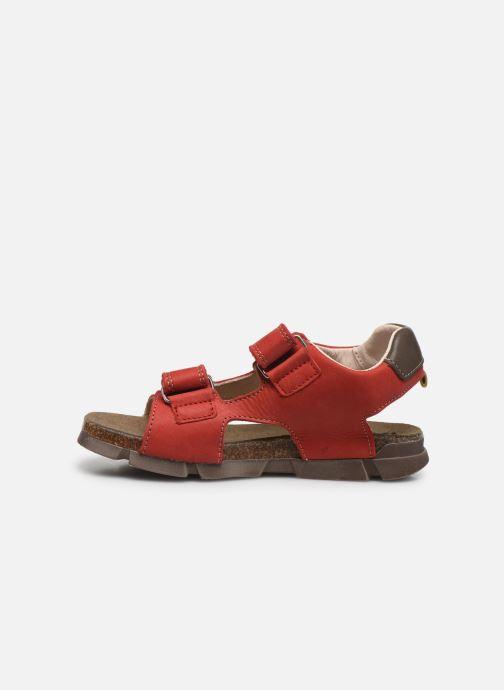 Sandali e scarpe aperte Bopy Erevol Rosso immagine frontale