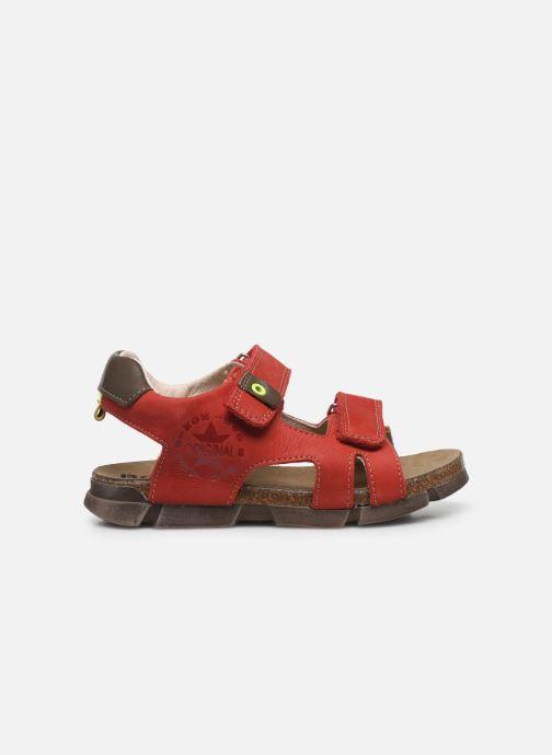 Sandali e scarpe aperte Bopy Erevol Rosso immagine posteriore