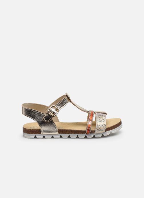 Sandales et nu-pieds Bopy Eskiss Or et bronze vue derrière