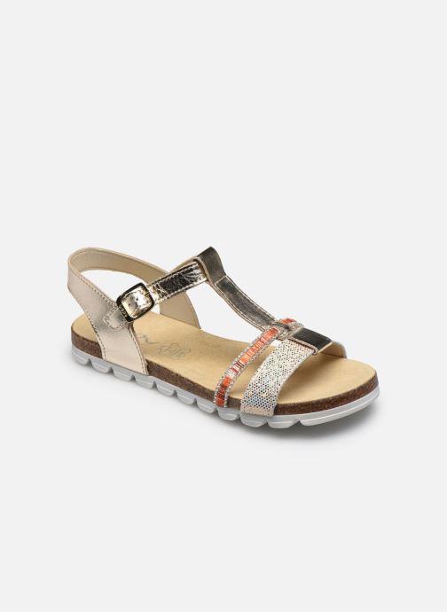 Sandales et nu-pieds Bopy Eskiss Or et bronze vue détail/paire