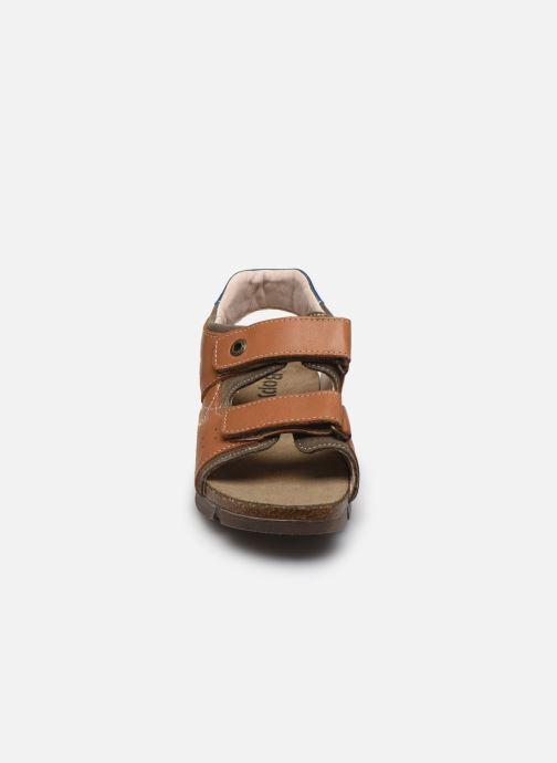 Sandali e scarpe aperte Bopy Espadon Marrone modello indossato