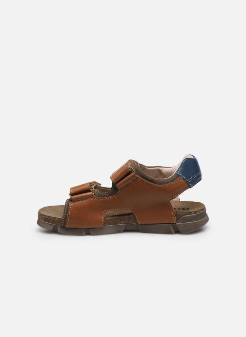 Sandali e scarpe aperte Bopy Espadon Marrone immagine frontale
