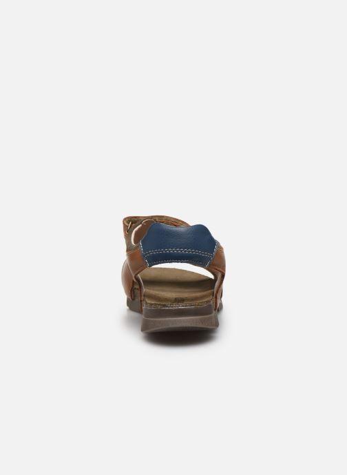 Sandali e scarpe aperte Bopy Espadon Marrone immagine destra