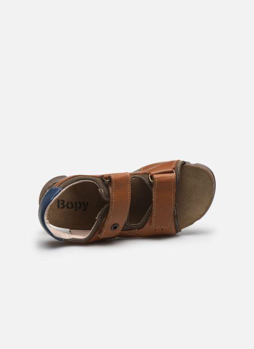 Sandali e scarpe aperte Bopy Espadon Marrone immagine sinistra