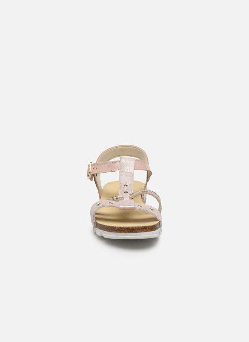 Sandales et nu-pieds Bopy Esprit Rose vue portées chaussures