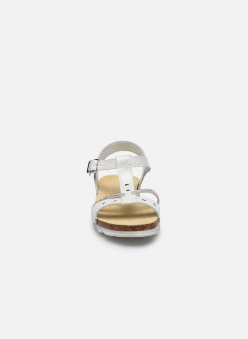 Sandales et nu-pieds Bopy Esprit Blanc vue portées chaussures