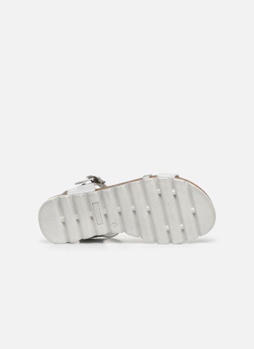 Sandales et nu-pieds Bopy Esprit Blanc vue haut