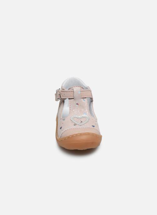Ballerines Bopy Jadore Rose vue portées chaussures