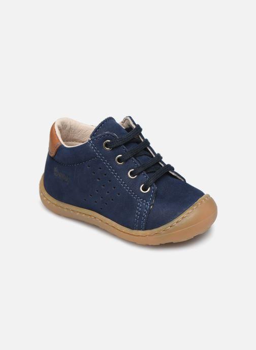 Ankelstøvler Bopy Jokari Blå detaljeret billede af skoene