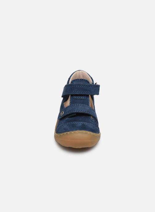 Sandales et nu-pieds Bopy Joker Bleu vue portées chaussures