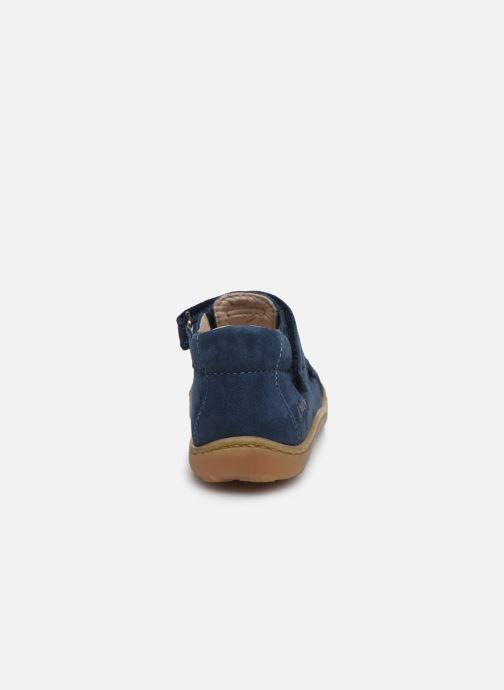 Sandales et nu-pieds Bopy Joker Bleu vue droite