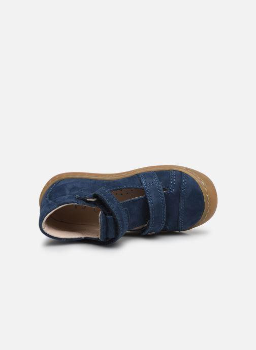 Sandales et nu-pieds Bopy Joker Bleu vue gauche