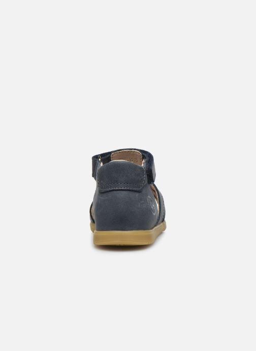 Sandali e scarpe aperte Bopy Rabano Azzurro immagine destra