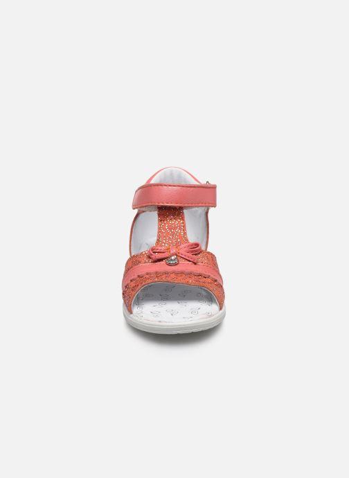 Sandales et nu-pieds Bopy Raya Orange vue portées chaussures