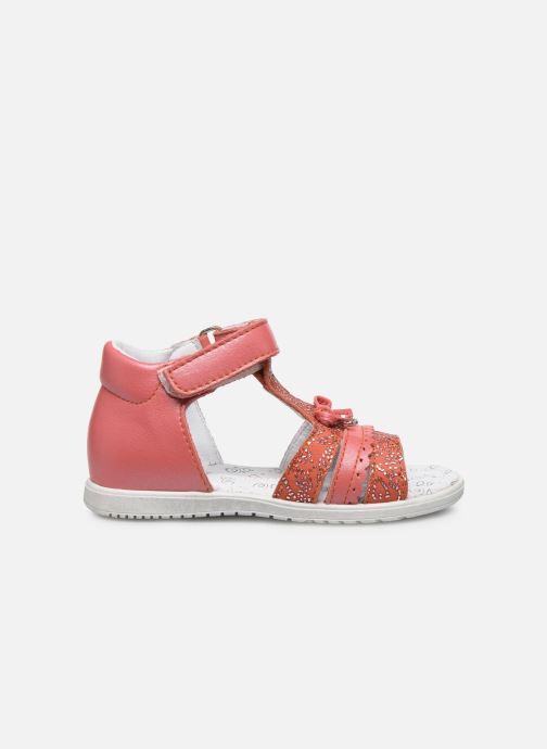 Sandales et nu-pieds Bopy Raya Orange vue derrière