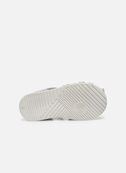Sandales et nu-pieds Bopy Rebelote Argent vue haut