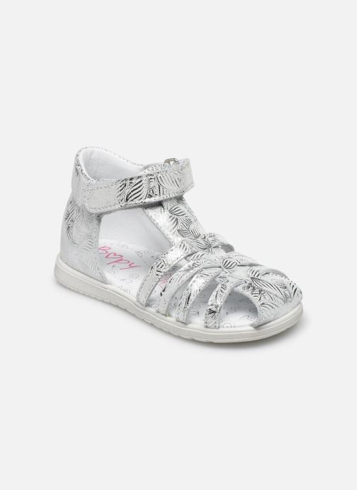 Sandales et nu-pieds Bopy Rebelote Argent vue détail/paire
