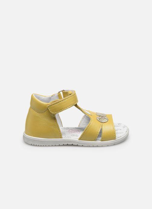 Sandales et nu-pieds Bopy Regalad Jaune vue derrière