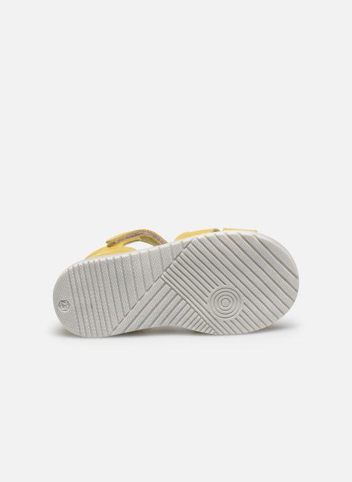 Sandales et nu-pieds Bopy Regalad Jaune vue haut