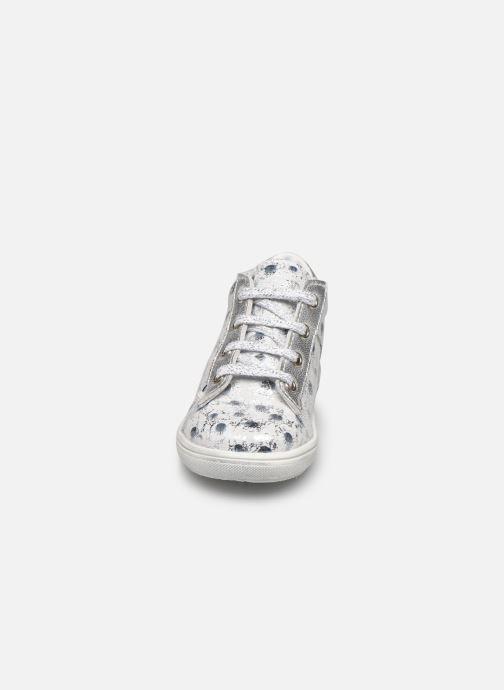 Bottines et boots Bopy Ripette Blanc vue portées chaussures