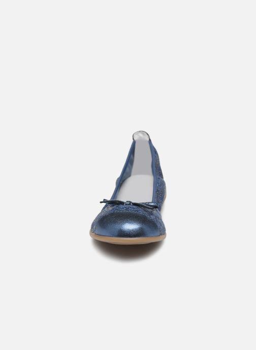 Ballerinas Bopy Sabra blau schuhe getragen