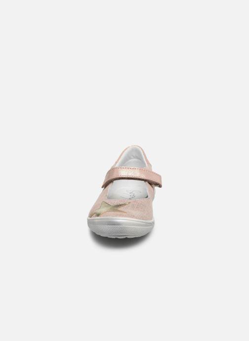 Ballerines Bopy Saga Rose vue portées chaussures
