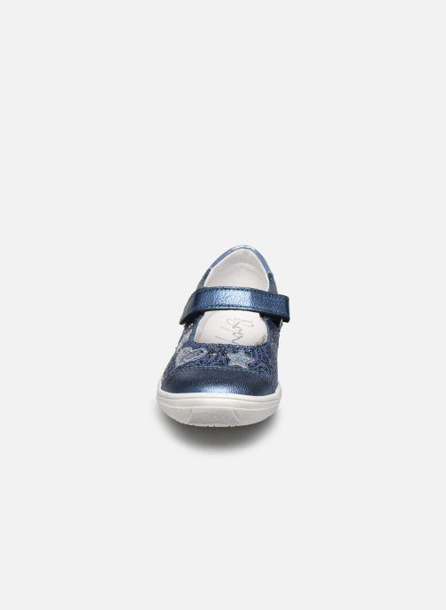 Ballerines Bopy Sagrate Bleu vue portées chaussures