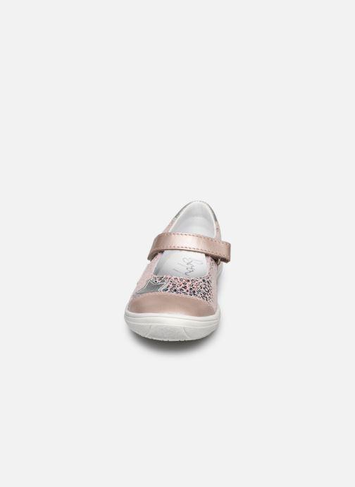 Ballerines Bopy Sapic Rose vue portées chaussures
