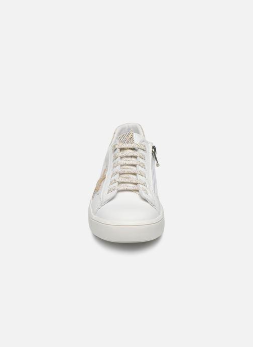 Baskets Bopy Sashimi Blanc vue portées chaussures