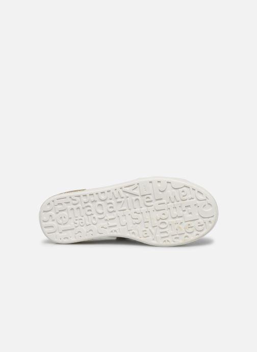 Baskets Bopy Sashimi Blanc vue haut