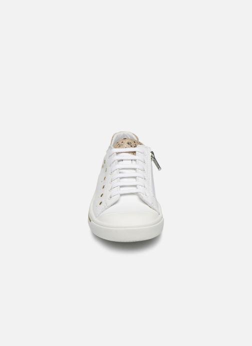 Baskets Bopy Sava Blanc vue portées chaussures