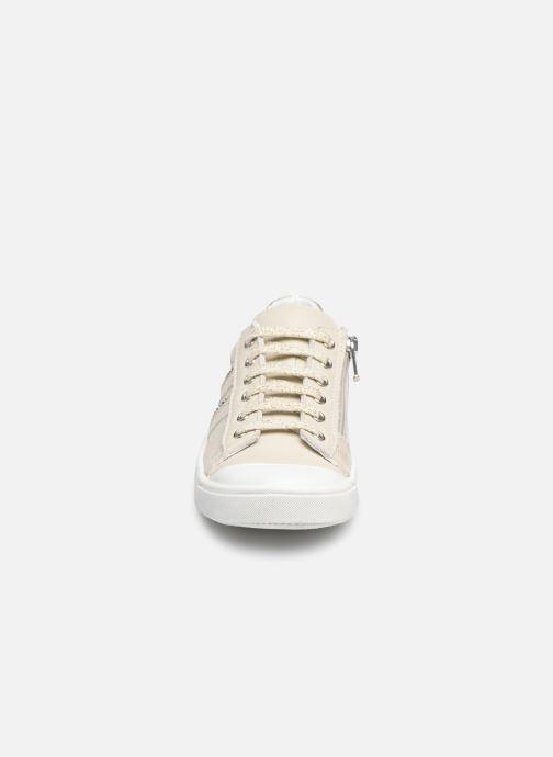 Baskets Bopy Scandale Or et bronze vue portées chaussures